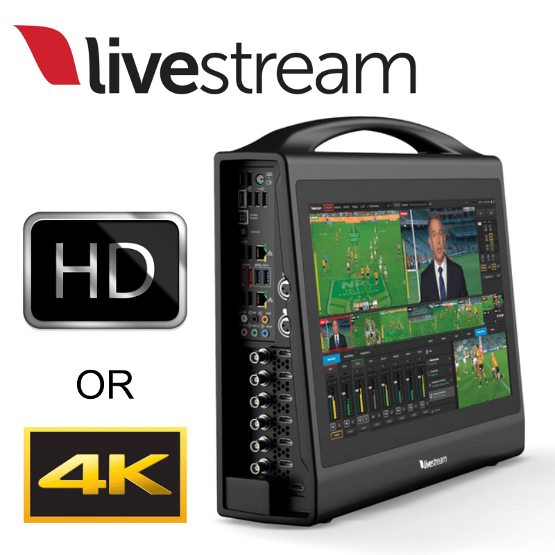 LIVESTREAM HD550 : AIO LIVE PRODUCTION SWITCHER