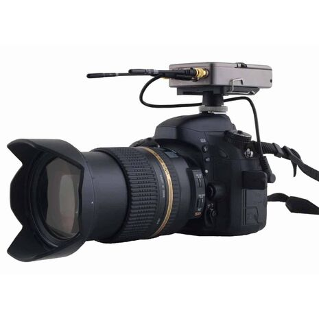 Normally DSLR/Small Camera have a semi-pro input audio and not digital input. With a dedicated DSP profile we can improve the audio quality up to 15/20 dB (Signal to noise)!!!